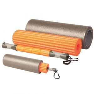 Ролик для йоги Liveup Yoga Roller Set LS3765 Orange