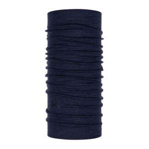 Бандана шерстяная Buff Midweight Merino Wool Night Blue Melange
