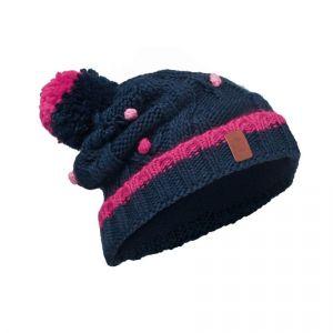 Шапка Buff Junior Knitted & Polar Hat Dysha Dark Navy (113531.790.10.00
