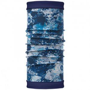 Бандана с поларом Buff Reversible Polar Winter Garden Blue