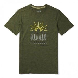 Футболка Smartwool Men's Merino Sport 150 Mountain Morning Tee (15159)