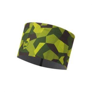 Повязка Buff Tech Fleece Headband Block Camo Green