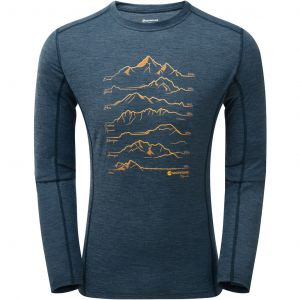 Термофутболка с длинным рукавом Montane Primino 140G 7 Summits L/S T-Shirt