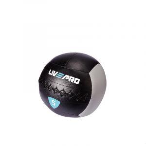 Мяч Livepro Wall Ball LP8100-5 Black/Grey