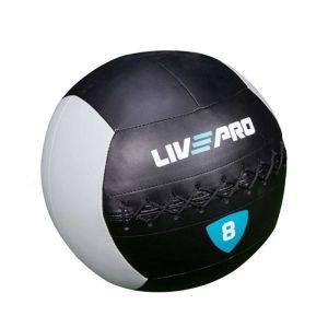 Мяч Livepro Wall Ball LP8100-8 Black/Grey