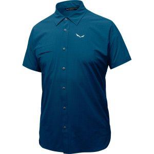 Рубашка с коротким рукавом Salewa Puez Minicheck Dry M S/S SRT (27053)