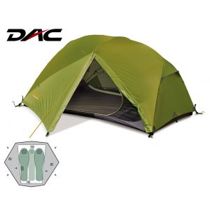 Палатка Pinguin Aero 3 DAC (Green)