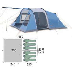 Палатка Pinguin Interval 6 (Blue)