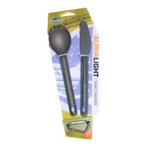 Набор столовых приборов Sea to summit Alpha Light Cutlery Set 2pc